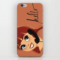 Salutations iPhone & iPod Skin