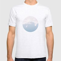 Cloud 9 Mens Fitted Tee Ash Grey SMALL