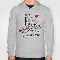 Valentine Love Calligrap… Hoody