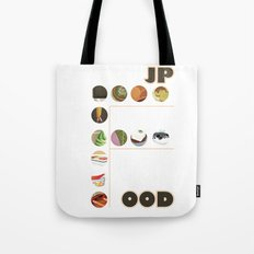 Japanese Food Bubble Zoom Tote Bag
