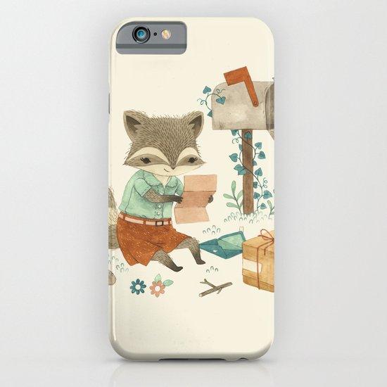 Raccoon Post iPhone & iPod Case