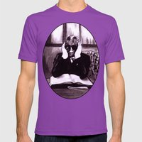 The Invisible Man Mens Fitted Tee Ultraviolet SMALL