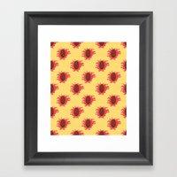 Peaches N Cream Framed Art Print