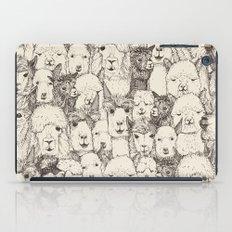 just alpacas natural iPad Case
