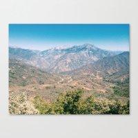 Kings Canyon Canvas Print