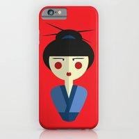 Japanese Doll iPhone 6 Slim Case