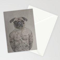 2 pug Stationery Cards