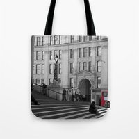 The Steps Of St Paul's A… Tote Bag