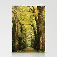 Ginkgo Biloba Trees Stationery Cards