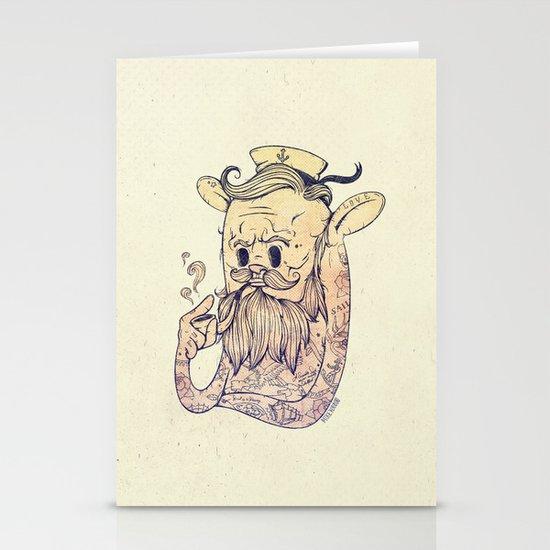Hello Sailor!! Stationery Card
