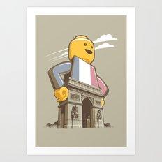 L'Arc de Trouser Art Print