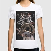 ARIES Womens Fitted Tee Ash Grey SMALL