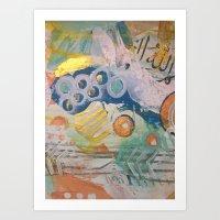 Oceans Of Love Art Print