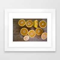 juice  Framed Art Print