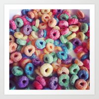 Froot Loops Art Print