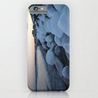 Snowballs on the Beach iPhone 6 Slim Case