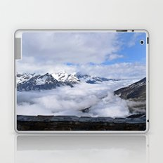 Looking down on the clouds Laptop & iPad Skin