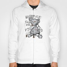 NO ONE ELSE CAN DO IT FOR YOU - grey Hoody