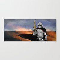 Captain Phasma Canvas Print