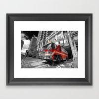 Fire Truck  Framed Art Print