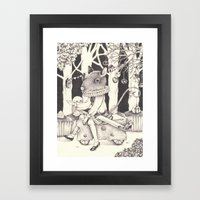 Sally Forth Framed Art Print
