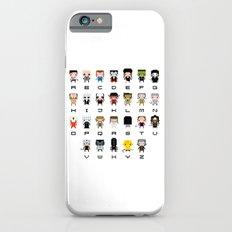 Horror Movies Alphabet Slim Case iPhone 6s