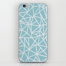 Ab Outline Salt Water iPhone & iPod Skin