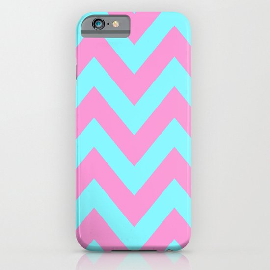 PINK & TEAL CHEVRON  iPhone & iPod Case