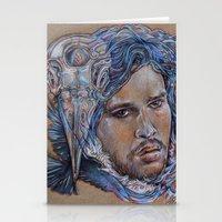 Jon Snow Stationery Cards