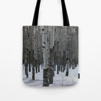 Whispering Aspen Tote Bag