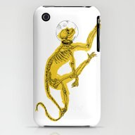 iPhone & iPod Case featuring Space Monkey by PAFF