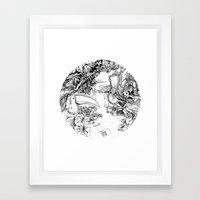 Amazone Framed Art Print