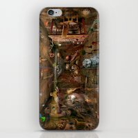Dream space Chaos iPhone & iPod Skin