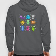 Monster Pattern Hoody