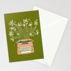 The Typing Tree Pink Stationery Cards