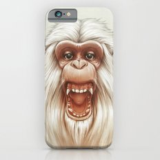 The White Angry Monkey iPhone 6s Slim Case