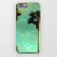 Palm Trees Heart Bokeh iPhone 6 Slim Case