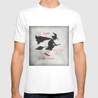 And I`m Not Afraid To Us… Mens Fitted Tee White SMALL