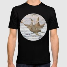 A Mystical Voyage Mens Fitted Tee Black SMALL