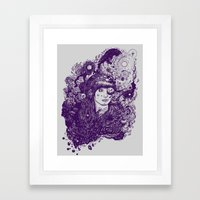 Look At The Light Framed Art Print