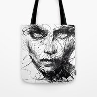 In Trouble, She Will. Tote Bag