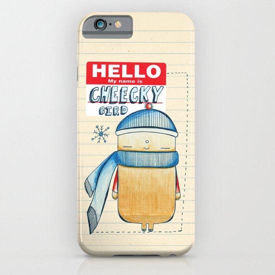 Cheeky Bird iPhone & iPod Case