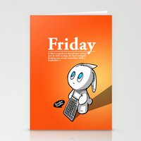 Thank You Friday! Stationery Cards