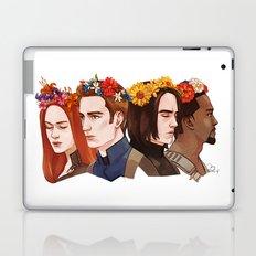 CATWS Floral Crowns Laptop & iPad Skin