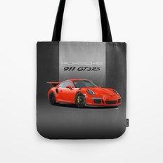 2016 Porsche 911 GT3 RS in Lava Orange Tote Bag