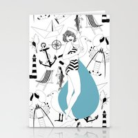 For the nautical enthusiast. Stationery Cards