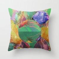 Mineral Galaxy Throw Pillow