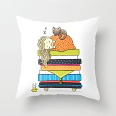 Plan for the Winter Throw Pillow