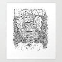 Fuck It All Art Print