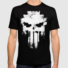 Space Punisher II Mens Fitted Tee Black SMALL